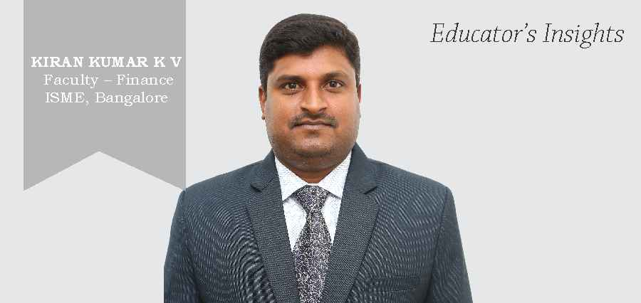 KIRAN KUMAR K V | Faculty - Finance ISME ,Bengalore - TheKnowledgeReview