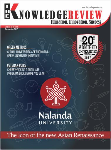 Cover Page - Most Admired University in India - Theknowledgereview