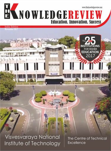 Cover page - The 25 Best Institutions for Higher Education 2017 November 2017 - Theknowledgereview