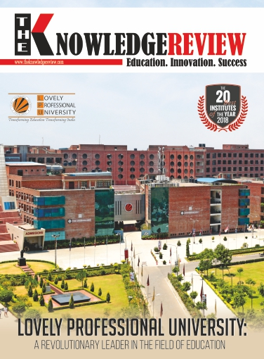 Cover Page - The 20 Best Institutes of The Year 2018 February2018 - The Knowledge Review