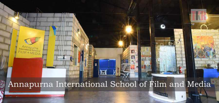 annapurna international school of film and media  empowering students to present the world with