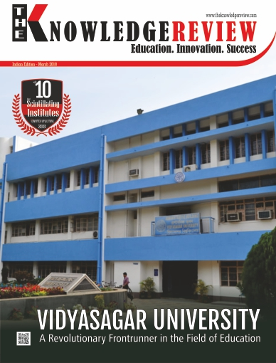 Cover Page - The10 Most Scintillating Institutes for Computer Applications India 2018 - The Knowledge Review