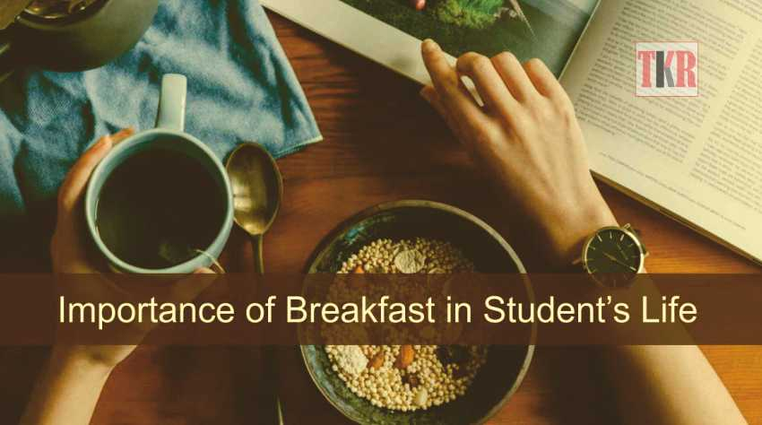 Breakfast in a Student's life